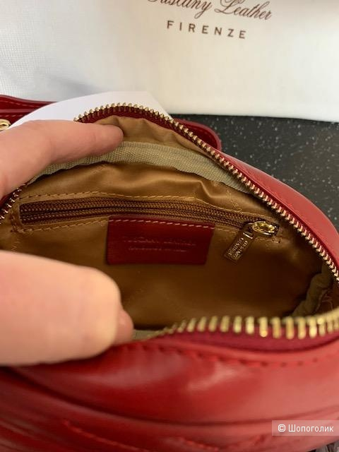 Сумка на пояс Tuscany Leather из нат.кожи