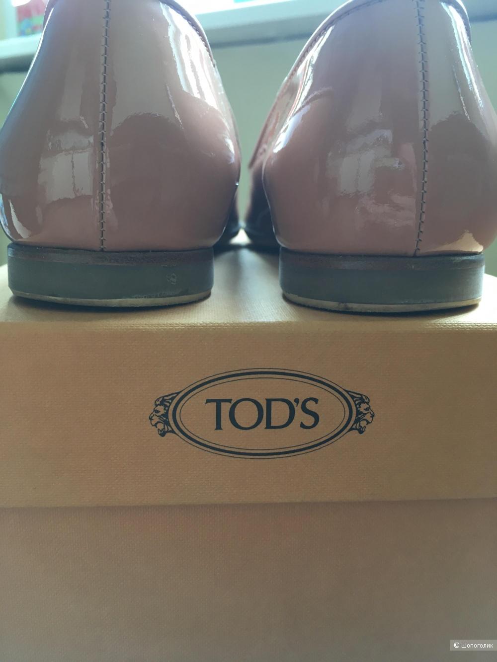 Балетки Tods ,размер 36,5.