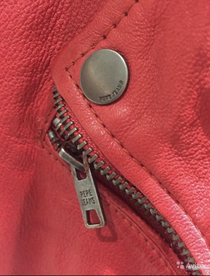Кожаная косуха Pepe Jeans London, pp M