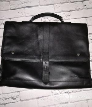Кожаный портфель Mood's of norway,40x30