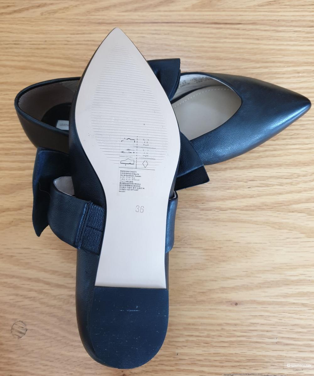 Туфли/мюли H&M р.35