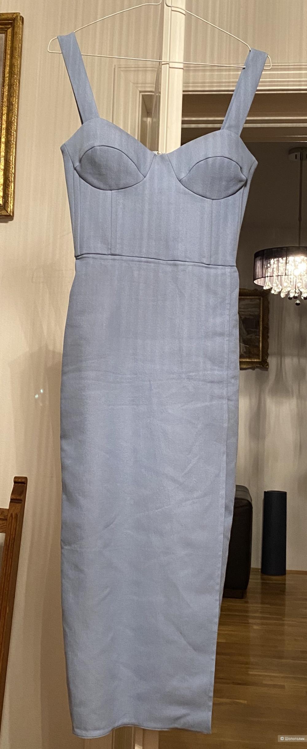 Платье бюстье русский дизайнер Post Meridiem  xs