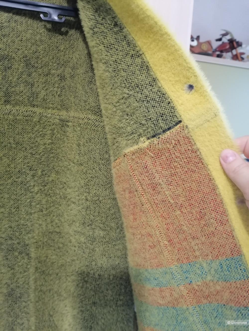 Пальто из Ангоры оверсайз 48-52.
