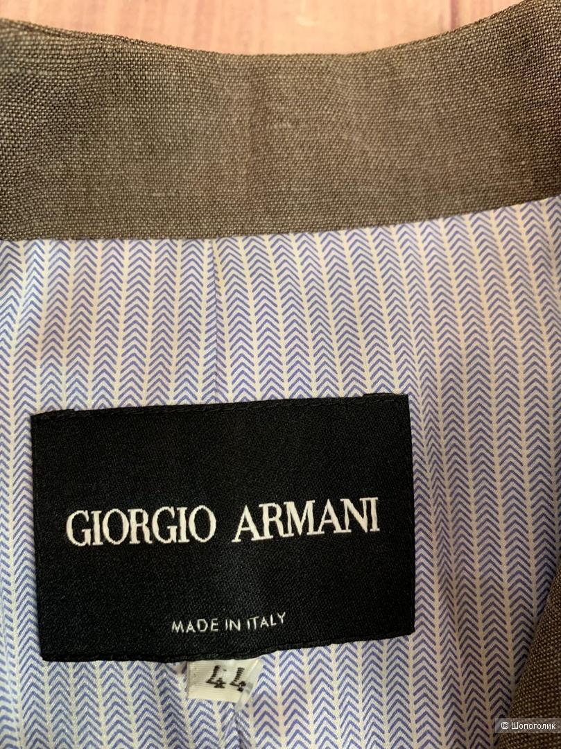 Льняной пиджак GIORGIO ARMANI М