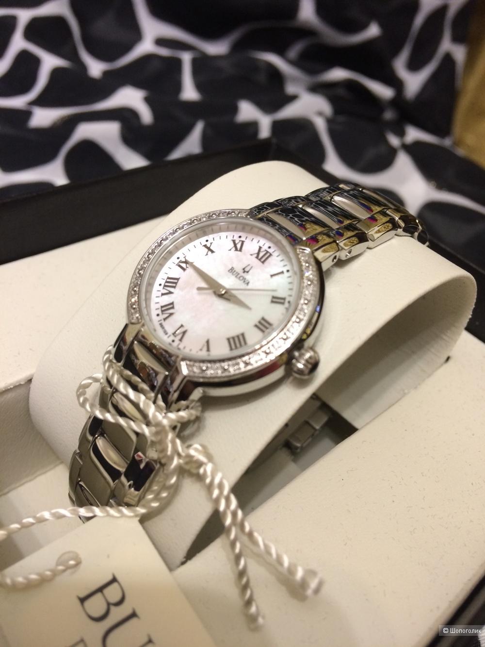 Женские часы Bulova, бриллианты