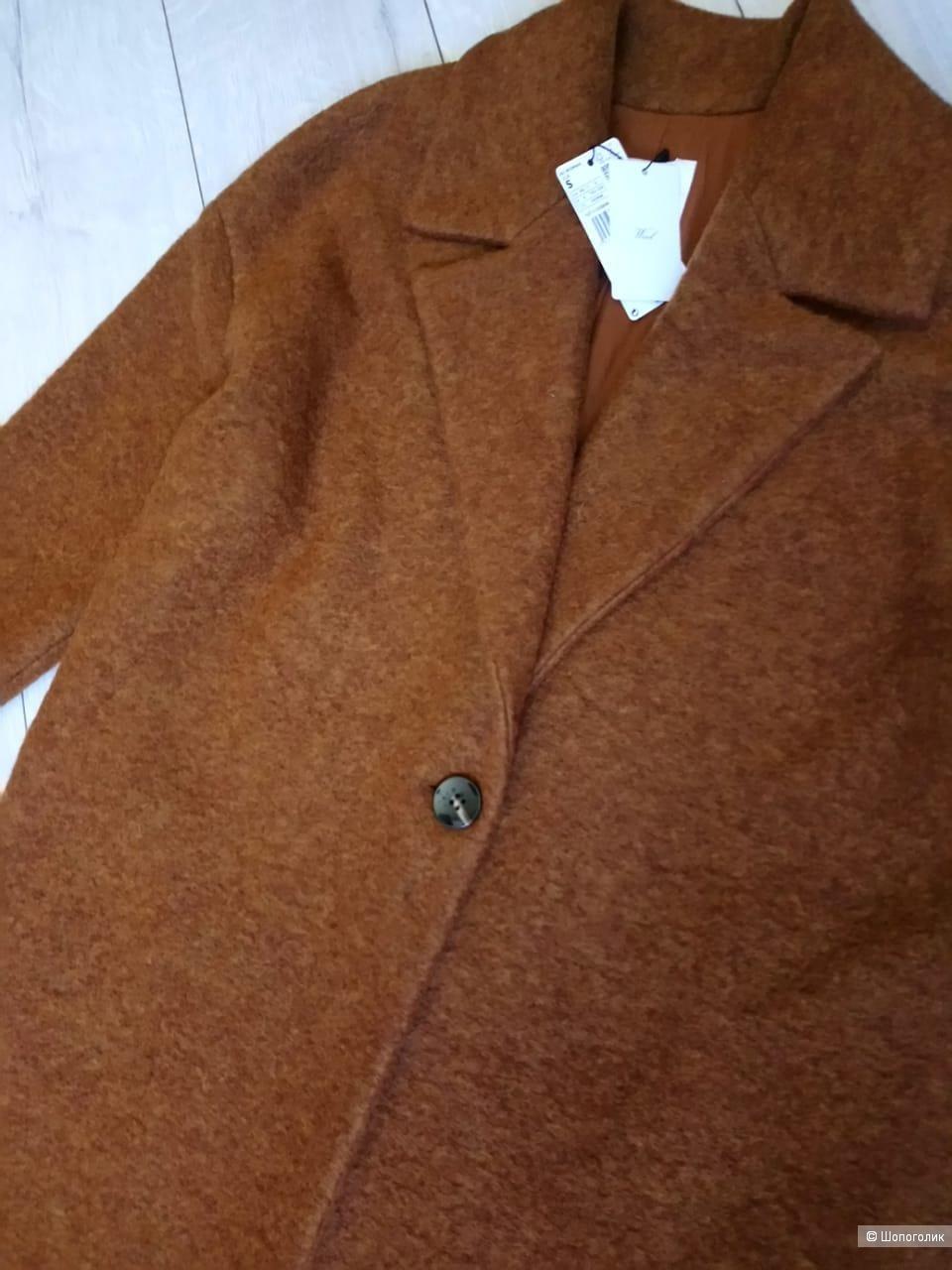 Пальто оверсайз mango, размер S/M