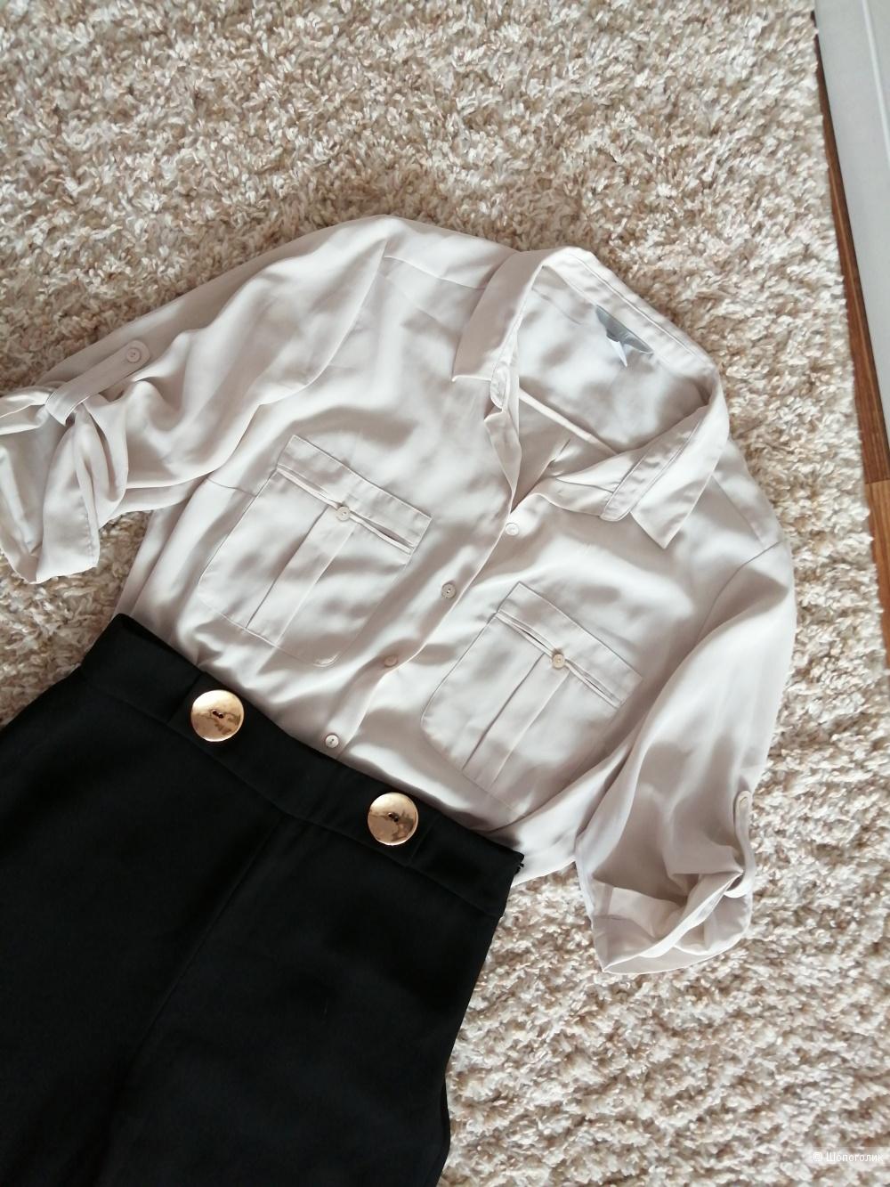 Сет :Брюки палаццо zara и блузка HM,  размер М.