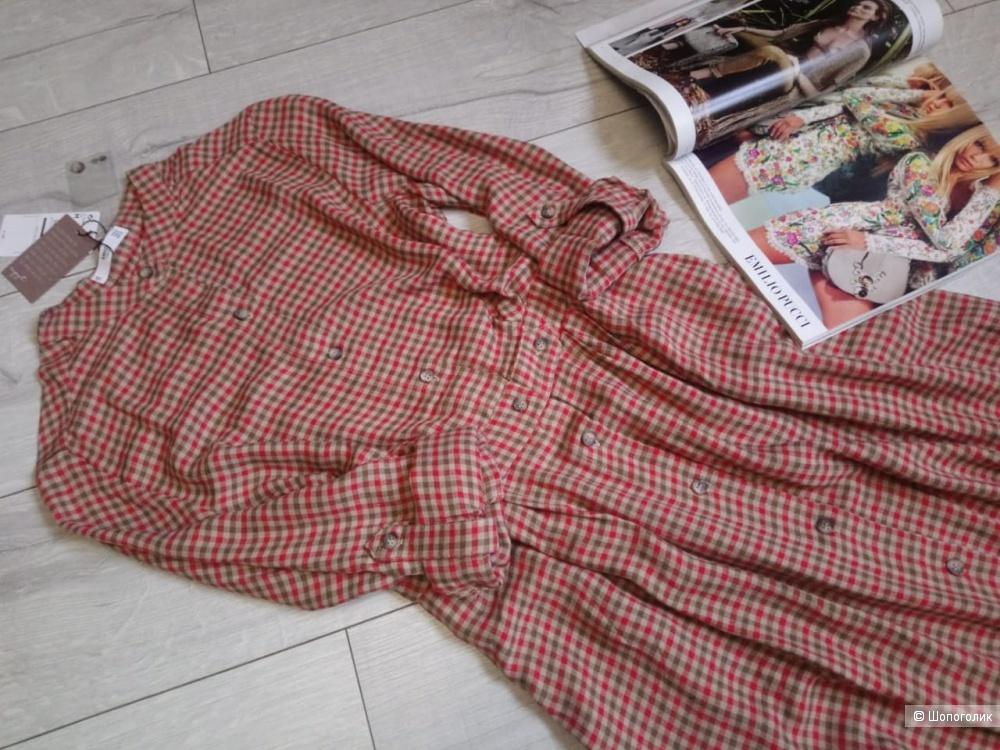 Платье -рубашка mango, размер XS/S