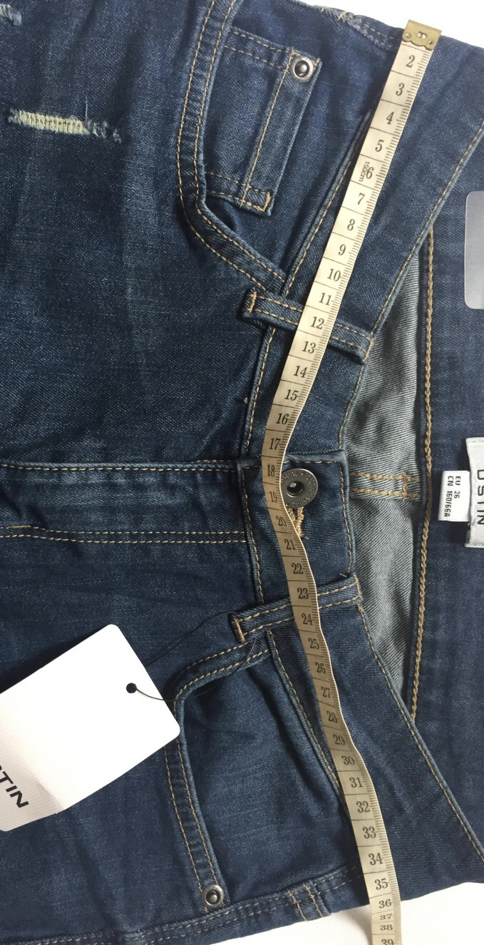 Сет: джинсы Ostin и футболка lime размер s