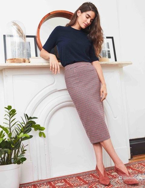 Шерстяная юбка boden, размер 46