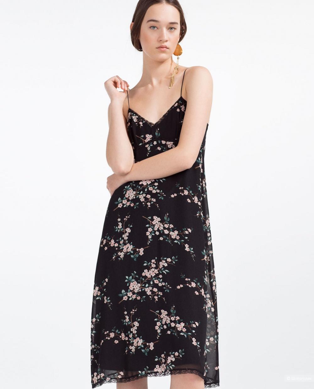 Платье-комбинация Zara размер S/М