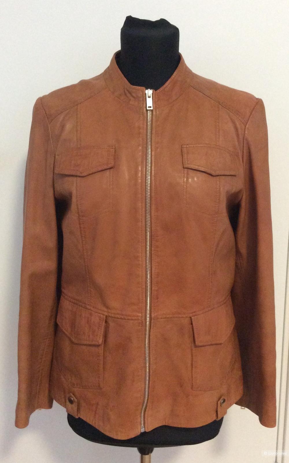 Кожаная куртка El Corte Ingles р. М