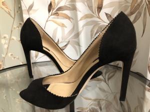Туфли с открытым мысом Zara 38