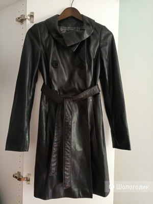 Кожаное пальто Lamur 40-42 рус