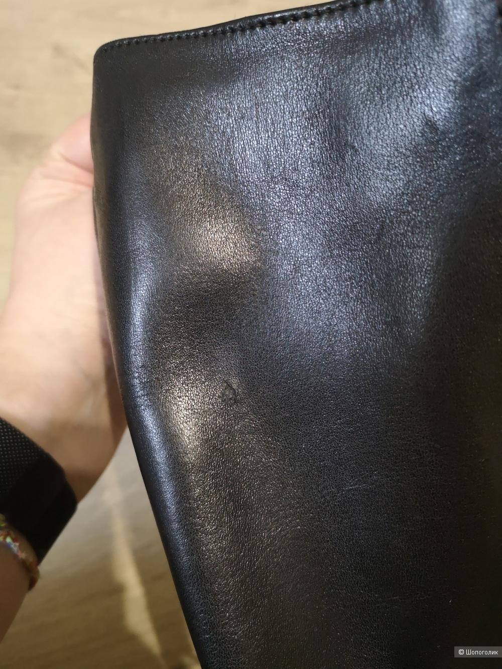 Кожаные сапоги United Colors of Benetton, 37 размер