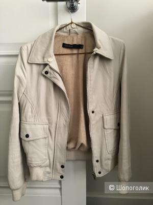 Куртка из натуральной кожи, пр-во CENTONZE  Италия, р-р XXS-XS