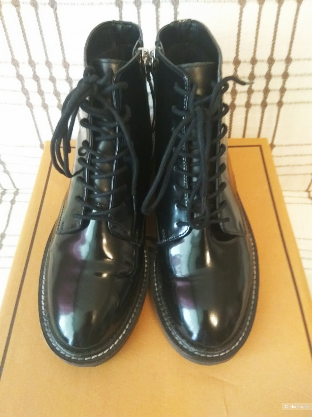 Ботинки кожаные Asos Design, 38 р-р.(UK 5)