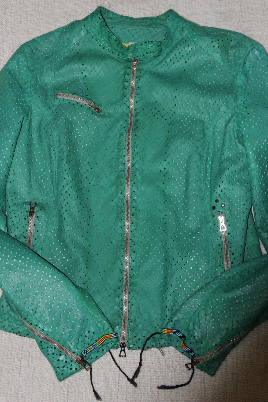 Кожаная куртка DELAN на 44-46-48 размер