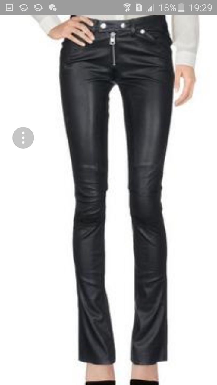 Кожаные брюки CALVIN KLEIN JEANS 30/32 на 46-48 размер
