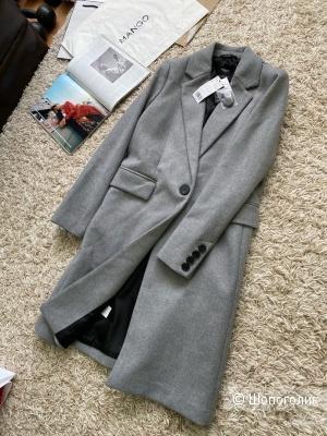 Пальто мужского кроя MANGO, размер L
