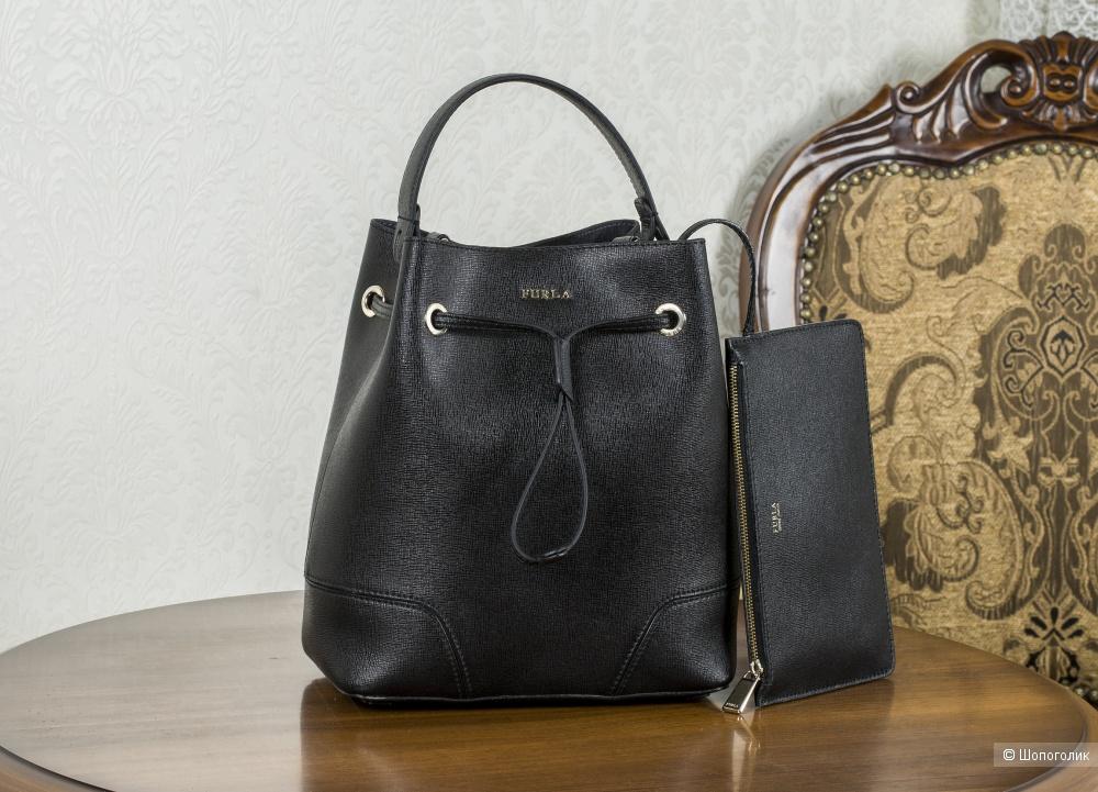 Сумка Furla женская, - (Stasy-bucket (торба), medium.