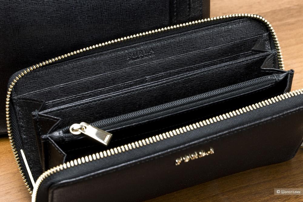 Сет: сумка-торба женская Furla Stacy + кошелек Furla Babylon, one size.