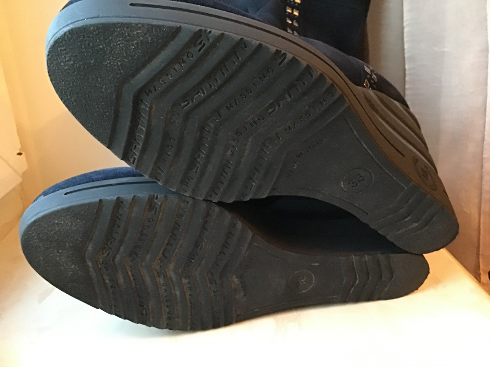 Полусапожки  ботинки Massimo Santini, 37,5—38 размер