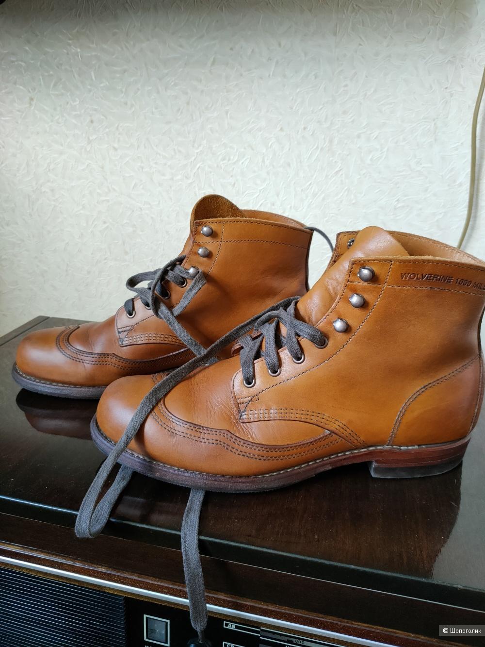 Ботинки Wolverine 1000 Mile USA 8,5, рус 41,5-42