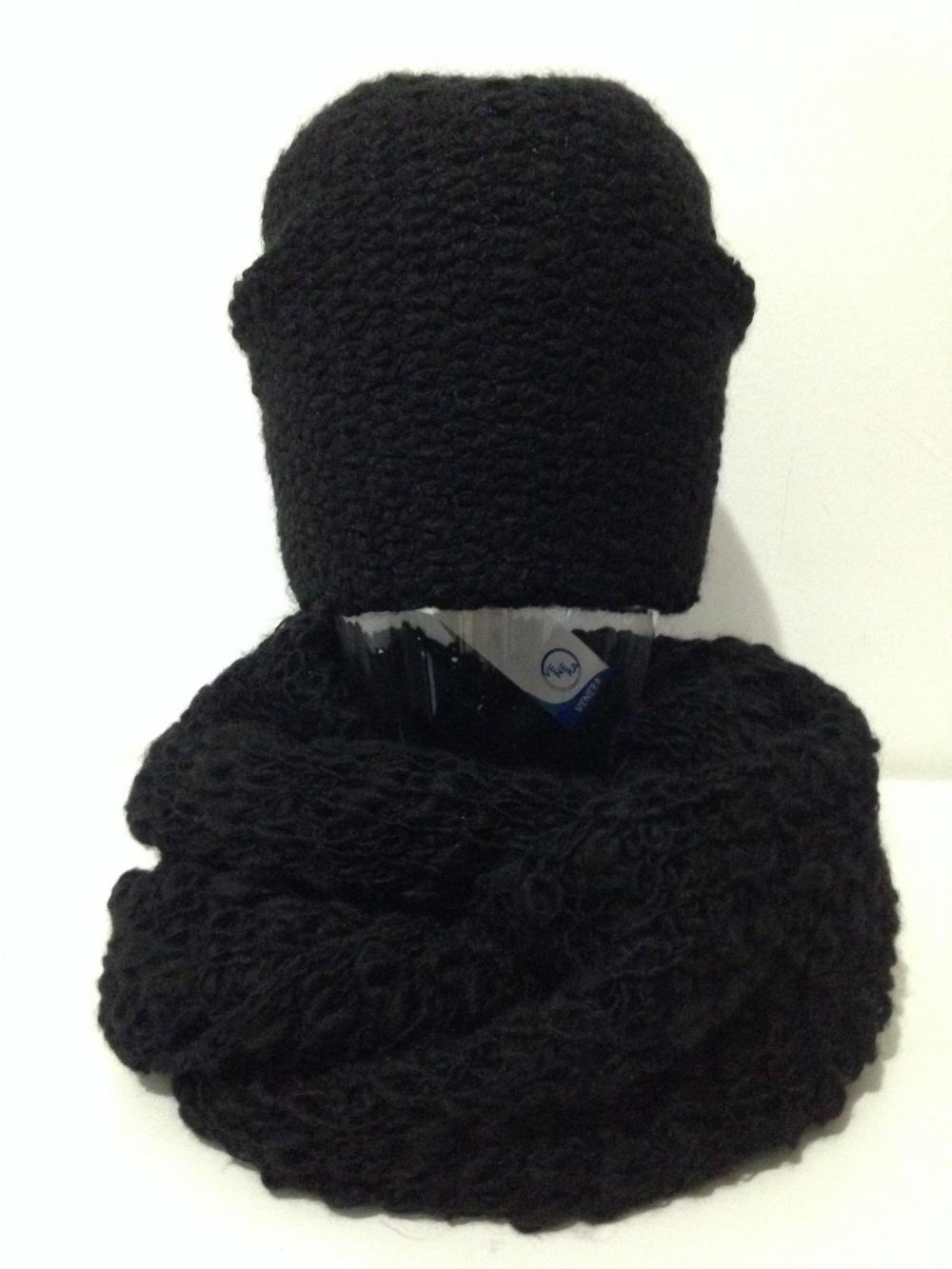 """Шапка и шарф  """" Venera """", универсальный размер"""