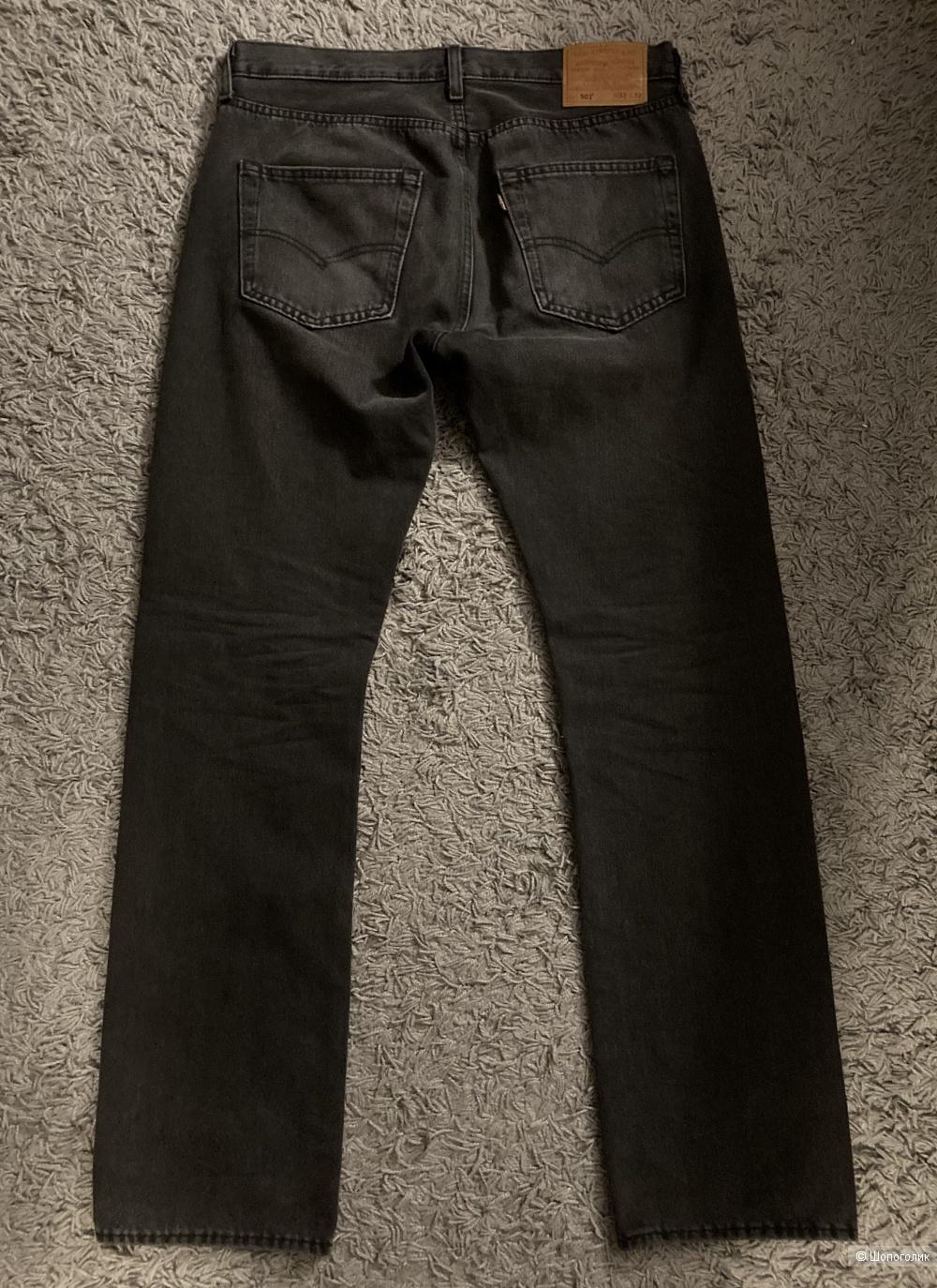 Джинсы Levi's 501, размер w32-l32