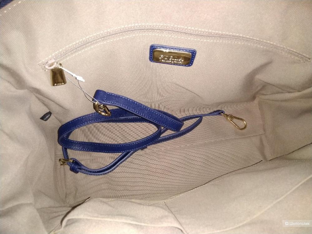 Сумка Furla женская - (Tessa-тоут, navy blue), large.