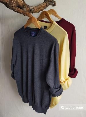 Шерстяной джемпер Charles Tyrwhitt, цвет грифельный, размер S / M / L