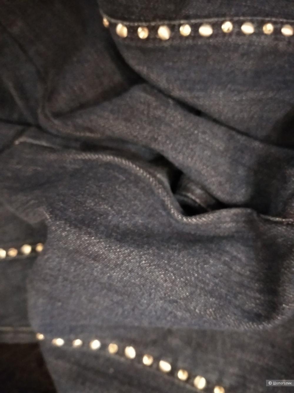 Джинсовые капри Elisa Fanti, 46 размер.