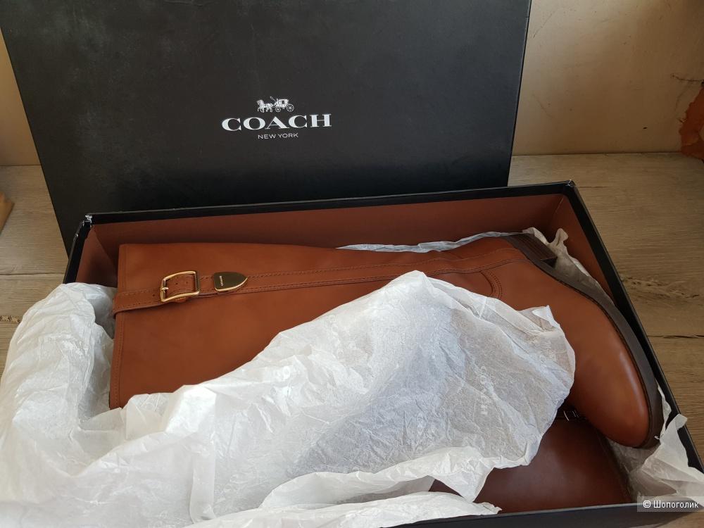 Сапоги Coach 36,5-37 (6.5) размер