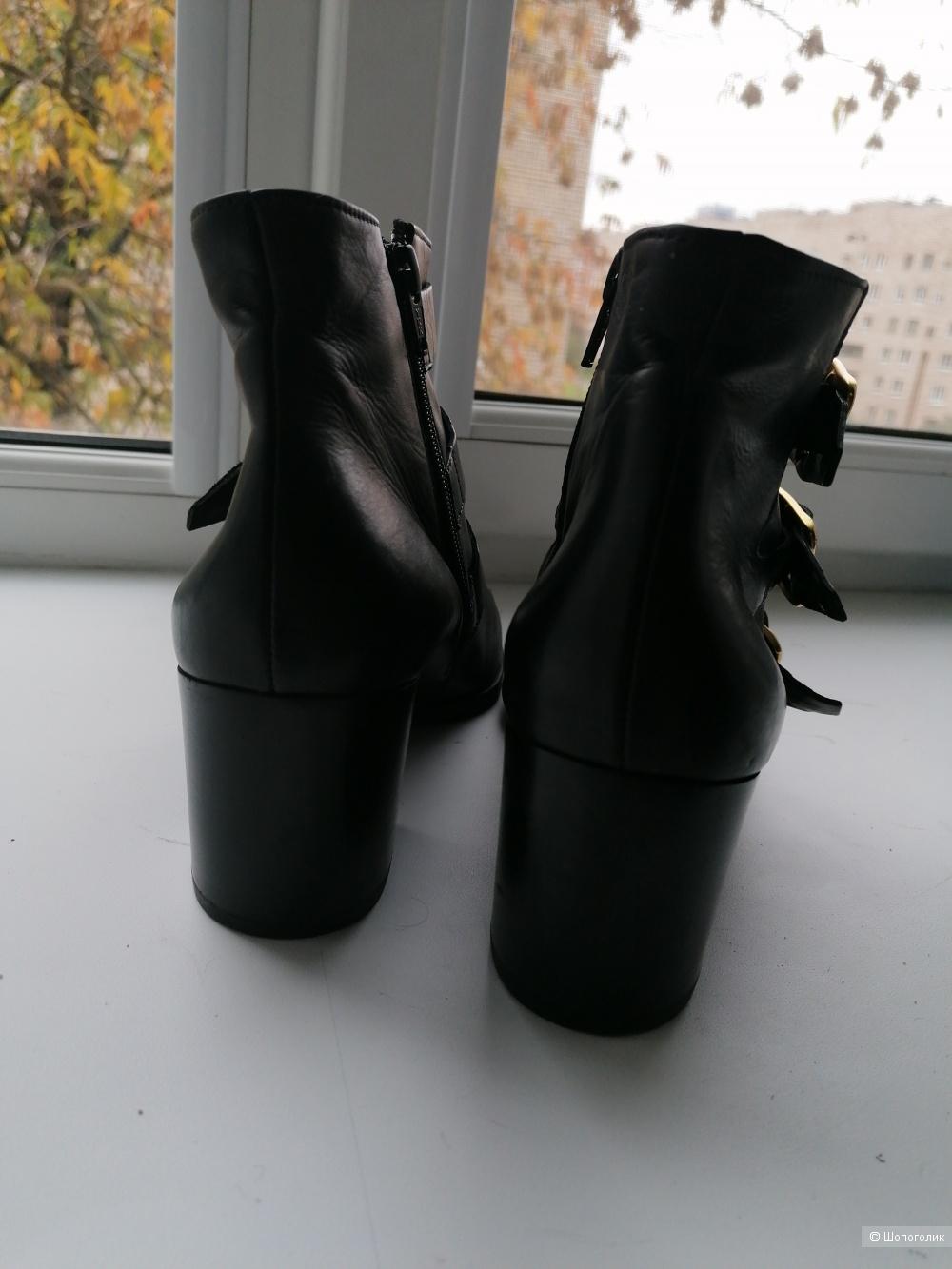 Кожаные ботинки PAUL Green 40 размера