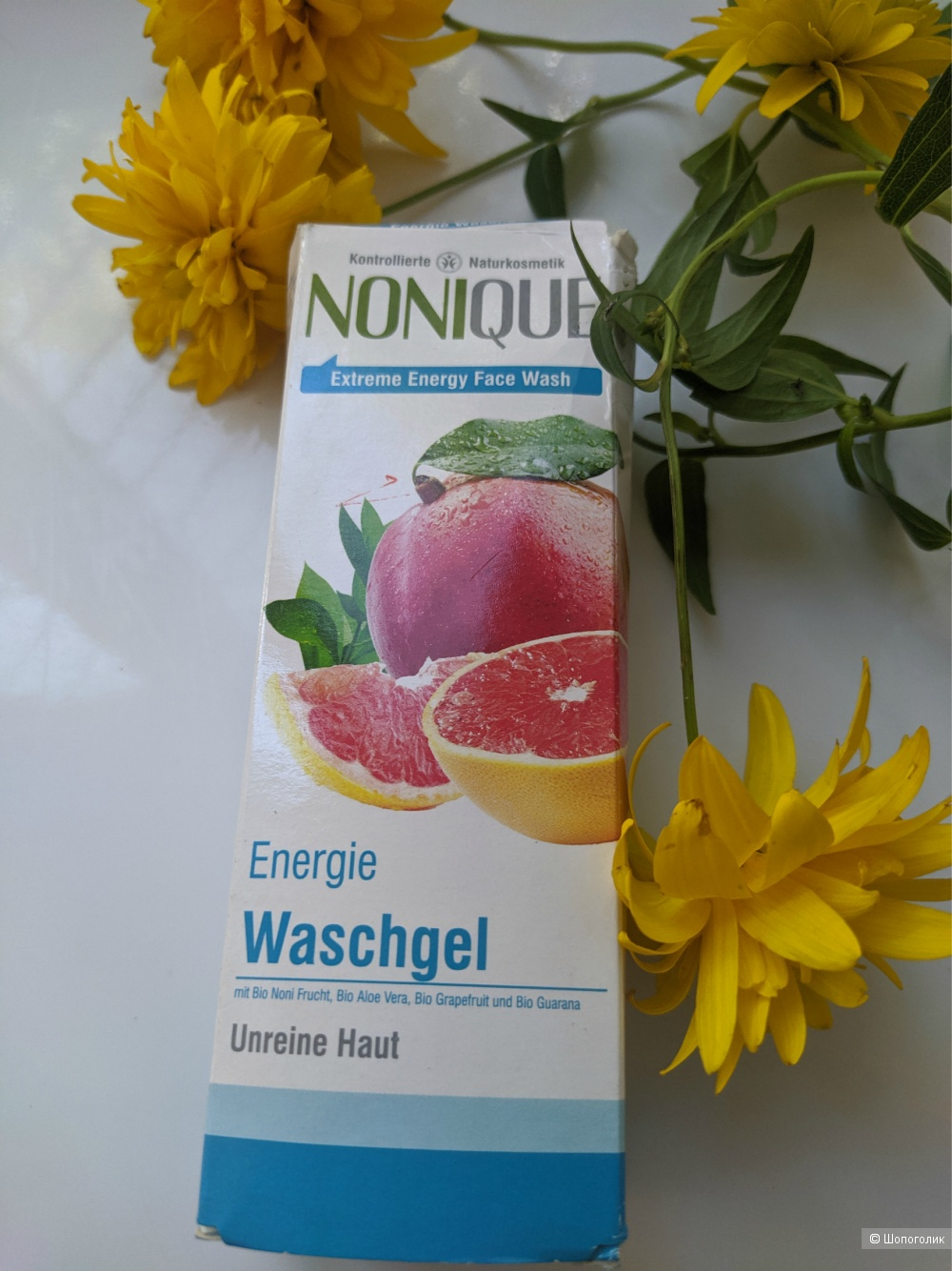 Гель для умывания Nonique Extreme Energy Maracuja, Mango & Grapefruit, 100мл
