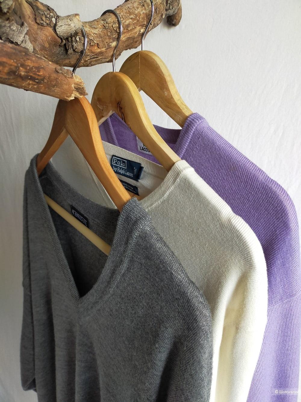 Шерстяной пуловер  Barisal, цвет грифельный, размер L / XL / XXL