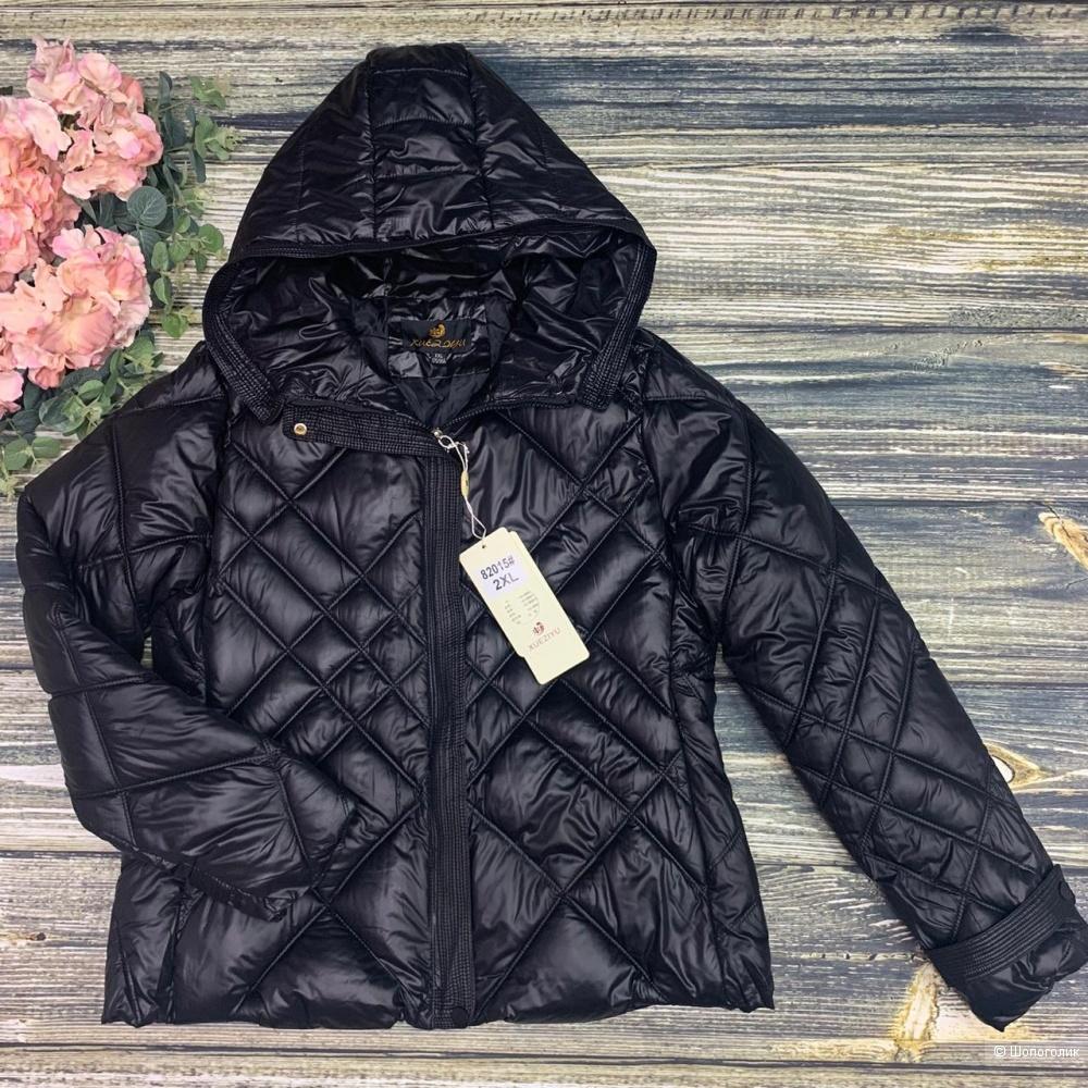 Куртка с капюшоном осень No NAME, 42-48