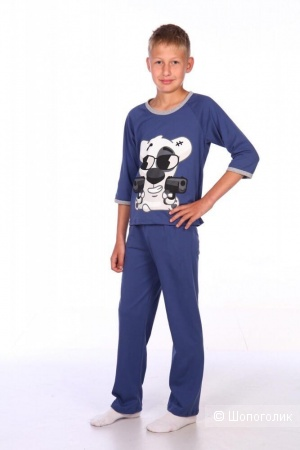 Пижама для мальчиков Ladoshki рост 152