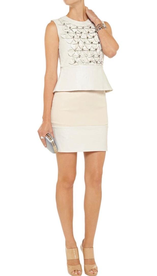 Платье Diane Von Furstenberg из натуральной кожи S