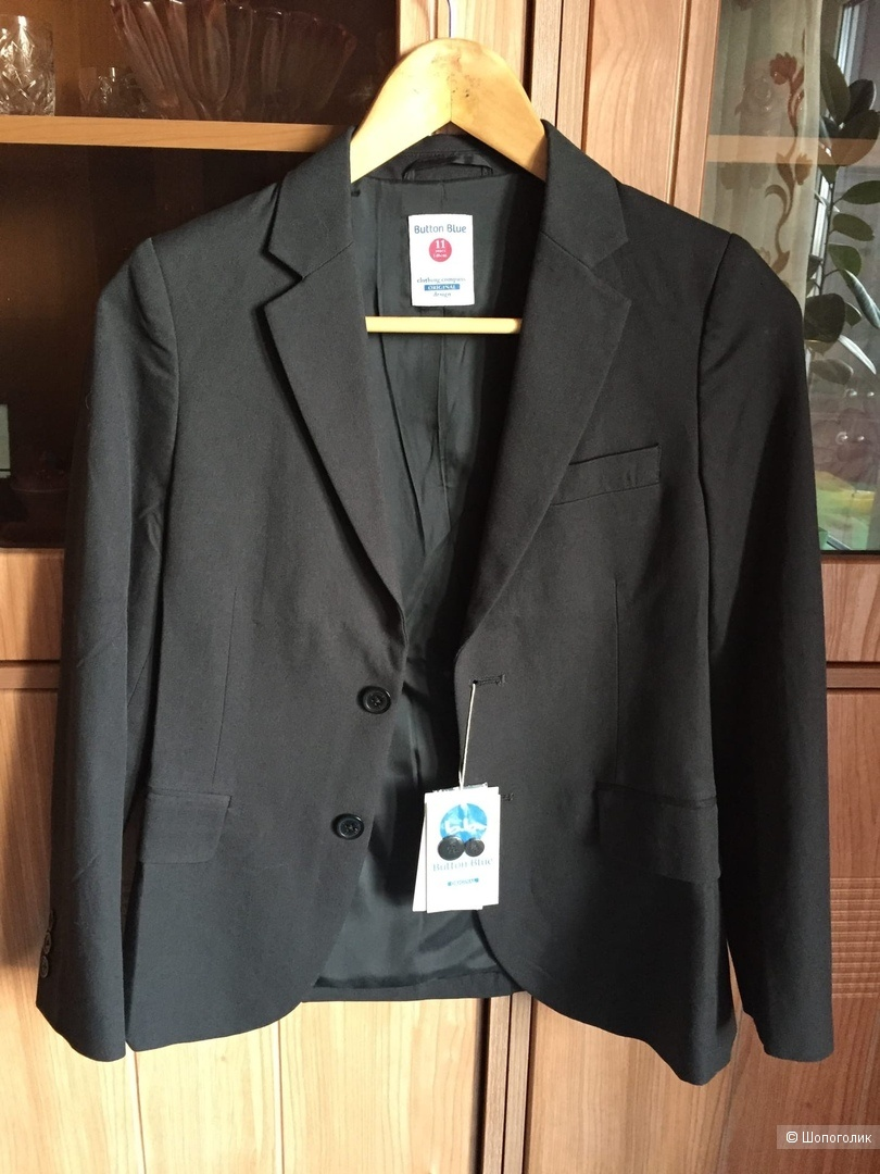 Пиджак для мальчиков Button Blue рост 146