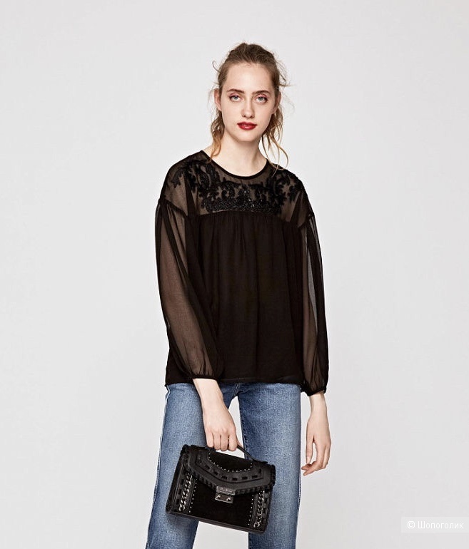 Блуза Pepe Jeans, размер S