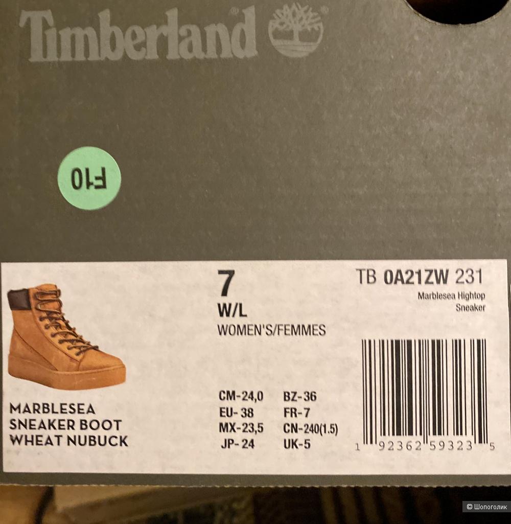 Ботинки женские Timberland размер 37