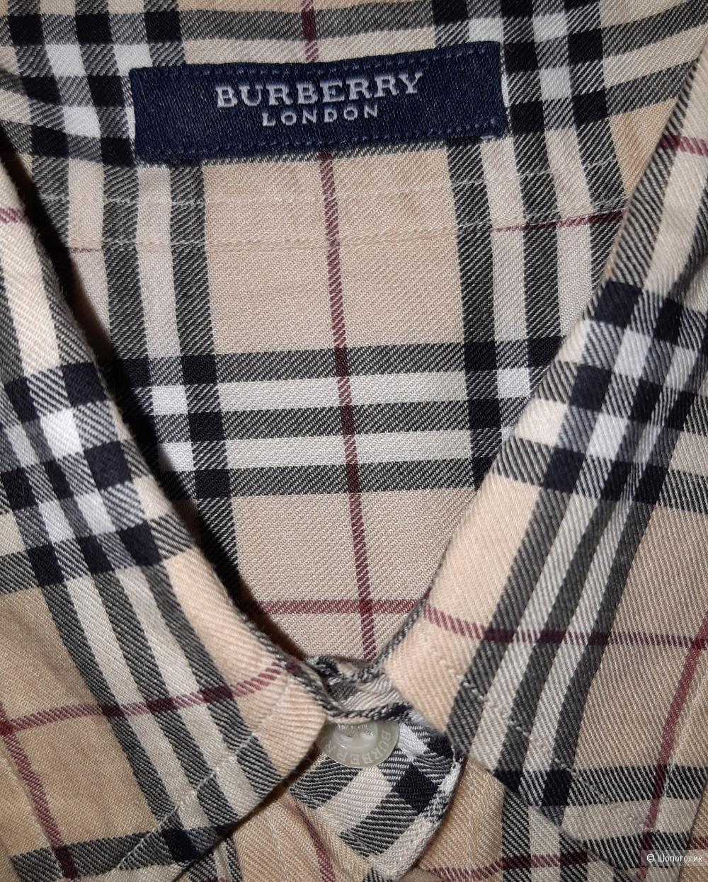 Рубашка burberry, размер s/m