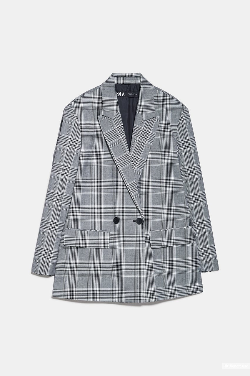 Пиджак ZARA, размер XS/S/M оверсайз
