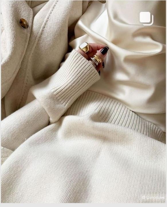 Джемпер из кашемира и шерсти, 12storeez, размер М