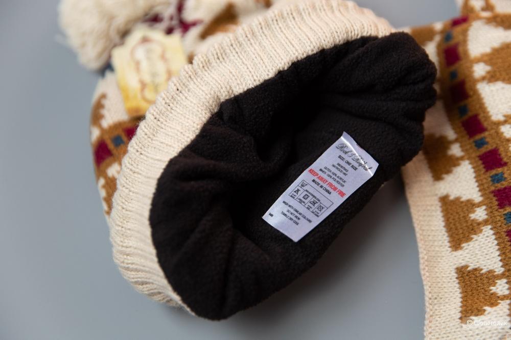 Комплект шапка и шарф Rock and Revival