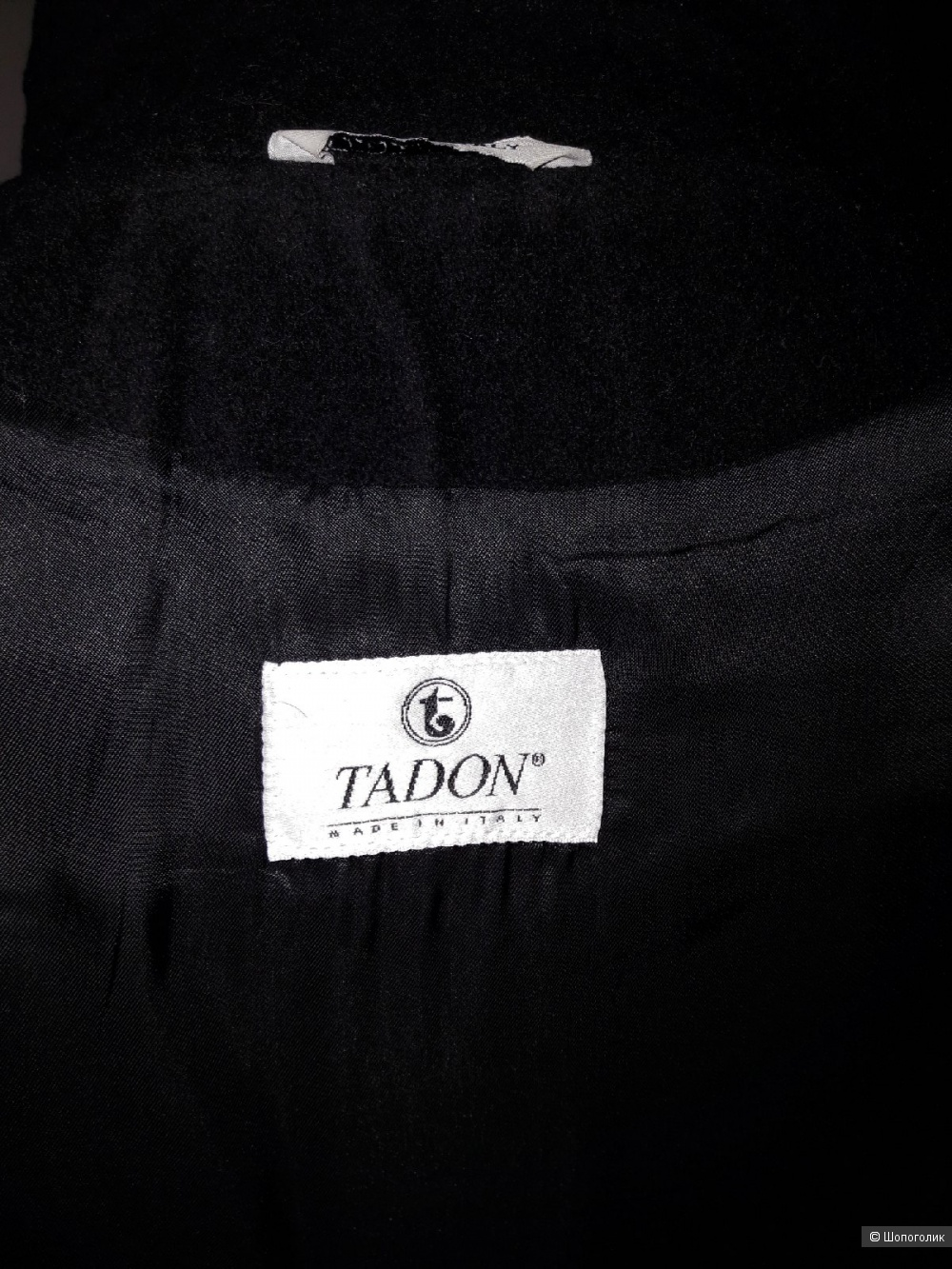 Пальто двубортное TADON, размер 44-46