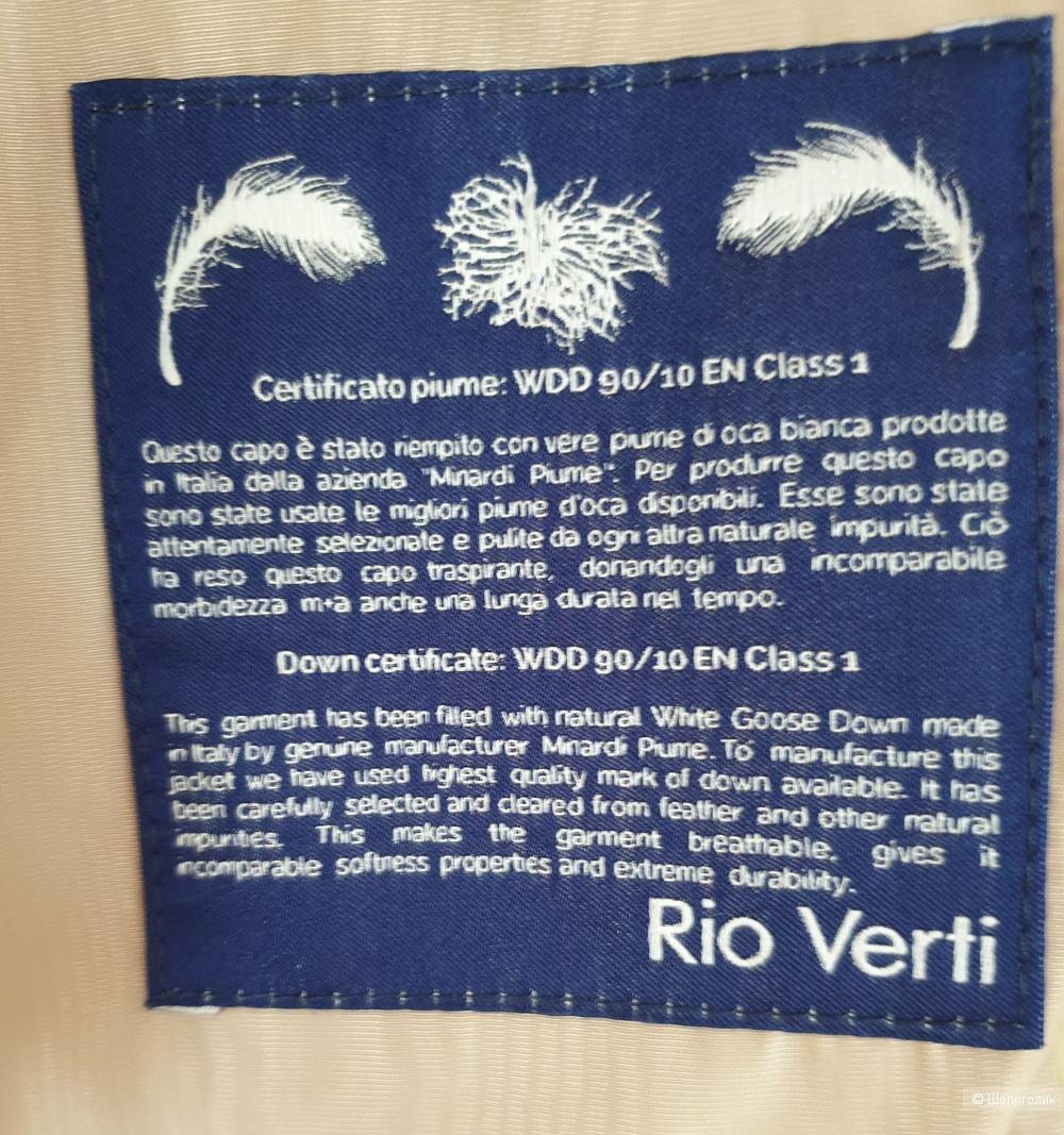 Пуховик Rio Verti р.34/XS