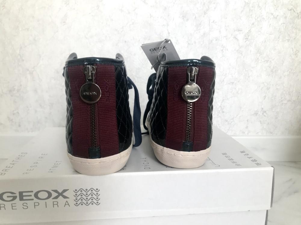 Высокие кроссовки GEOX, 36 размер